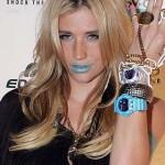 Ke$ha y sus relojes más modernos