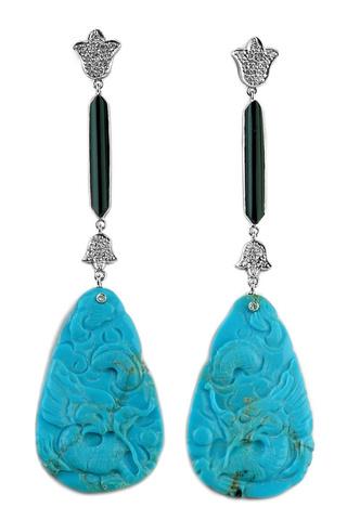 Azul Turquesa Para La Primavera 2011 Joyas Complementos