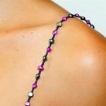 Tirantes con joyas para el verano