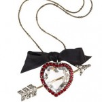 Lanvin: Collar de lujo 'Glass Heart'