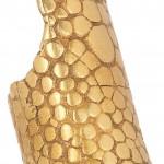 Yves Saint Laurent anillo plateado 1