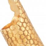 Yves Saint Laurent anillo plateado 5