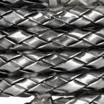 Bottega Veneta anillo bobinado de plata 2012 4