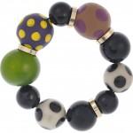 Marni pulsera con perlas de resina 1