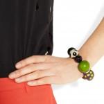 Marni pulsera con perlas de resina 3