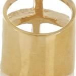 Pamela Love anillo chapado en oro 4