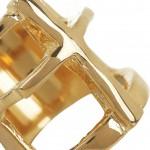 Pamela Love anillo chapado en oro 5