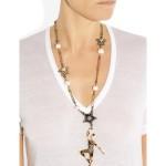 Lanvin: Collar con cristales swarovski 'Danseuses'