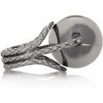 Bottega Veneta anillo de plata sterling 3