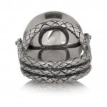 Bottega Veneta anillo de plata sterling 4