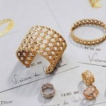 My Dior Haute Joaillerie: Victoire de Castellane reinterpreta El Cannage de Dior
