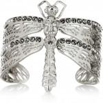 Alexander McQueen pulsera dragonfly con cristales swarovski 1
