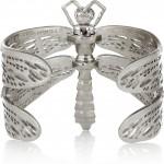 Alexander McQueen pulsera dragonfly con cristales swarovski 3