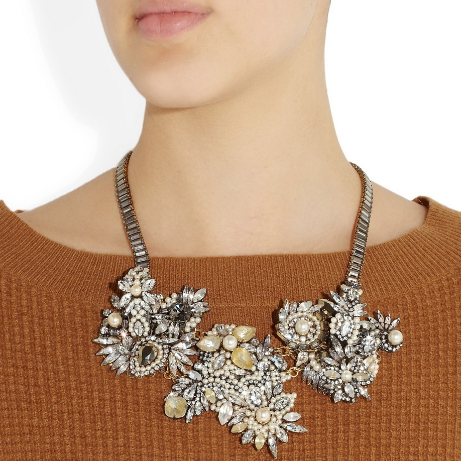 Erickson Beamon collar con cristales swarovski 2
