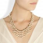 Rosantica: Collar chapado en oro de 24 quilates 'Sposami'