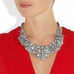 Valentino: Collar con cristales Swarovski