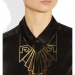 Pamela Love: Collar con refinado corte arquitectónico