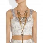 Lulu Frost Sunburst Drape collar 2013 1