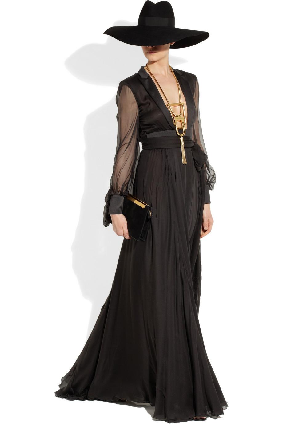 saint laurent collar dorado 39 opium 39 joyas complementos tendencias y marcas. Black Bedroom Furniture Sets. Home Design Ideas