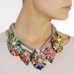 Shourouk: Collar con cristales swarovski 'Ivana'