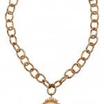 Bottega Veneta collar chapado en oro 2013 1