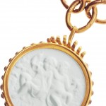 Bottega Veneta collar chapado en oro 2013 4