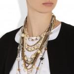 Erickson Beamon: Collar con cristales swarovski 'Girlie Queen'