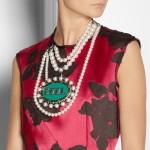 Lanvin: Collar con cristales swarovski 'Gloria'